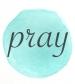 blue circle pray
