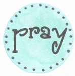 blue dots pray