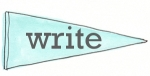 blue pennant write