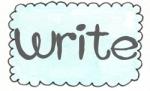 blue rect scallop write