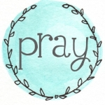 blue wreath pray