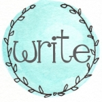 blue wreath write