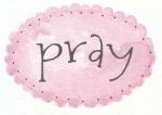 pink oval dot pray