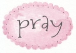 pink oval dot pray