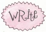 pink oval zigzag write