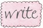 pink rect scallop write