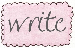 pink rect scallop write
