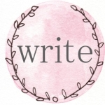 pink wreath write